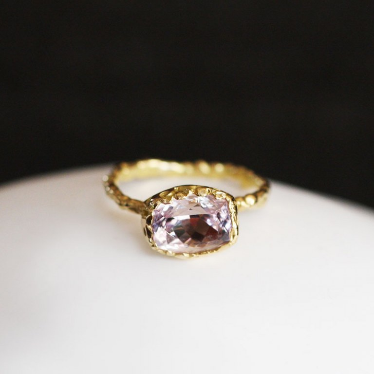 Bague Morganite n°3