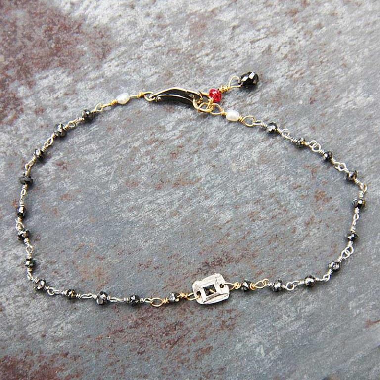 Bracelet Diamants noirs