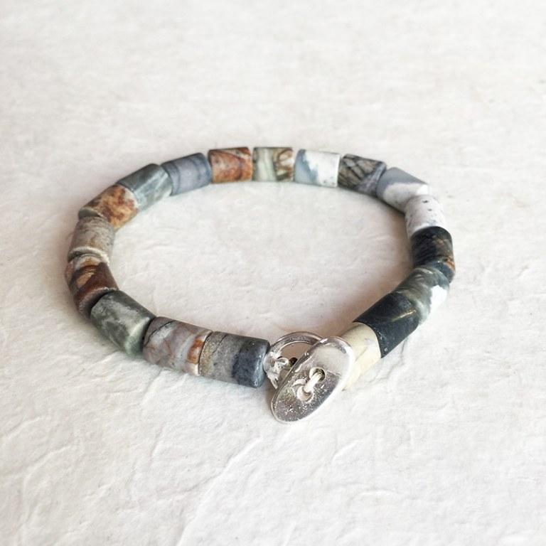 Bracelet Agate Tube