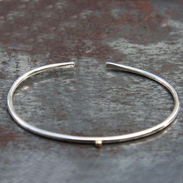 Bracelet Jonc 1 boule or