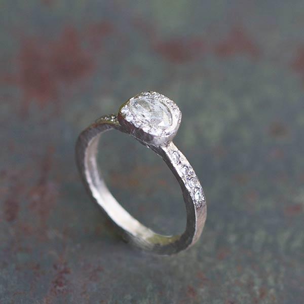 Bague Sentiment Diamants VENDUE