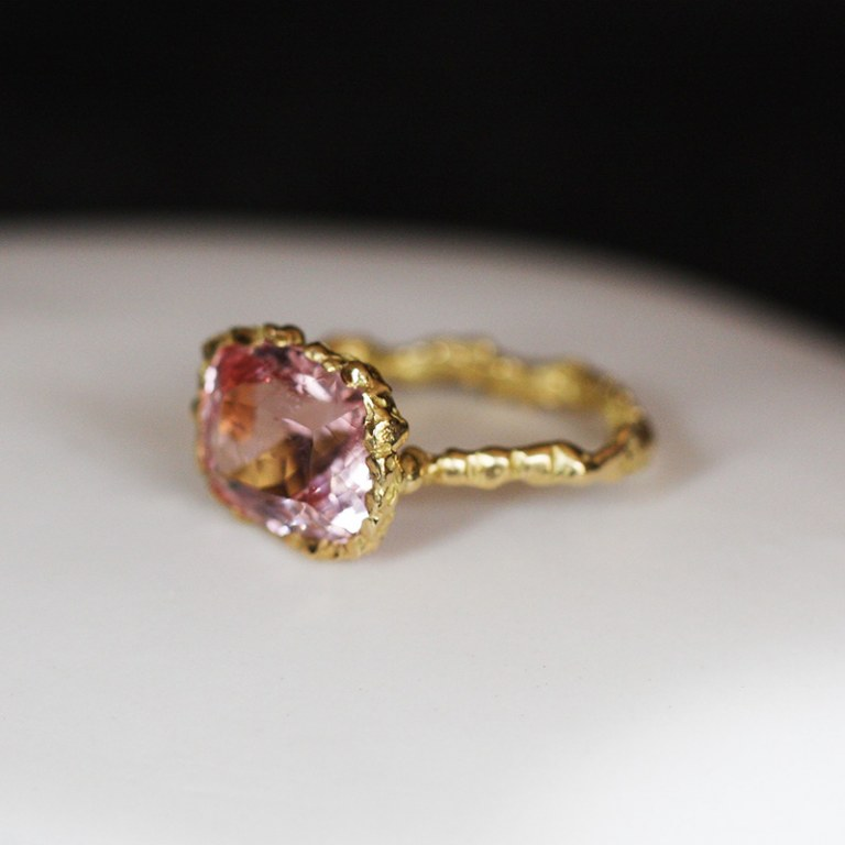 Bague Morganite n°1