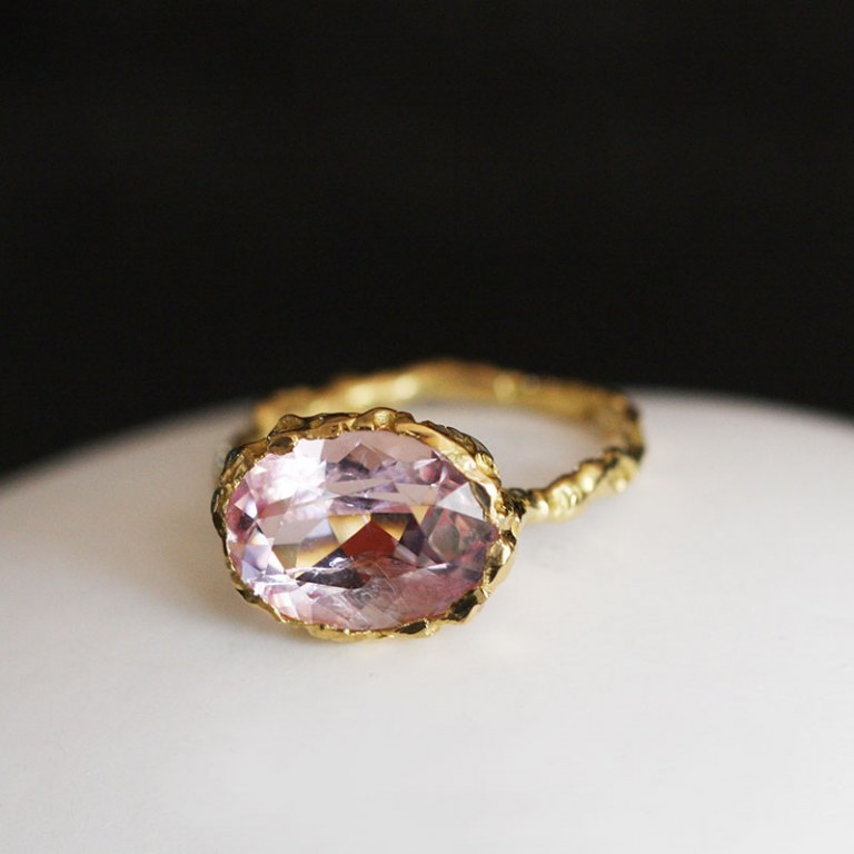 Bague Morganite n°2