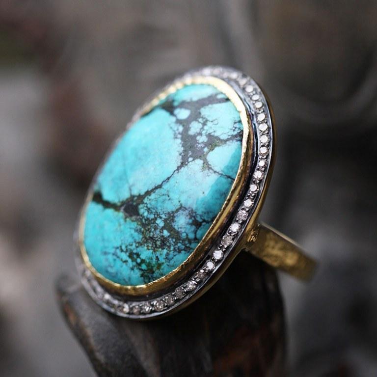 Bague Elk Turquoise