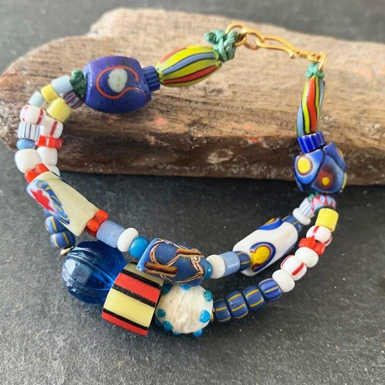 Double Bracelet Bleu