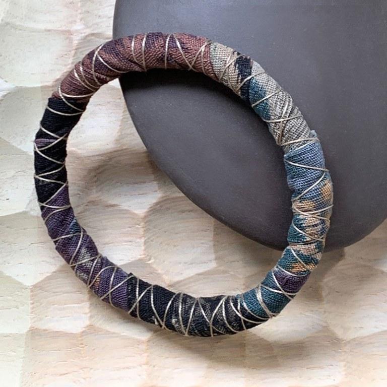 Bracelet Tissu Automne