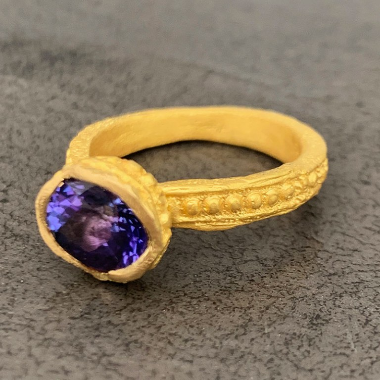 Bague Secret d'Orient Tanzanite