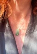 Pendentif Simple vert