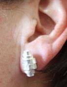 Boucles d'oreilles Cocon
