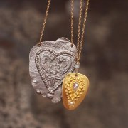 Collier Coeur Antique