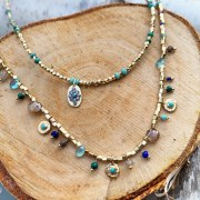 Collier Max Turquoise