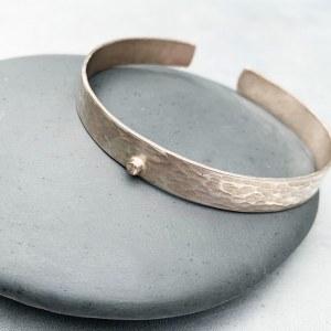 Bracelet Ecorce Argent Diamant