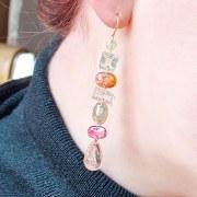 Boucles d'oreilles Tourmalines