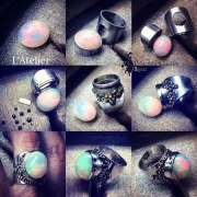 Bague Opale Fire Role