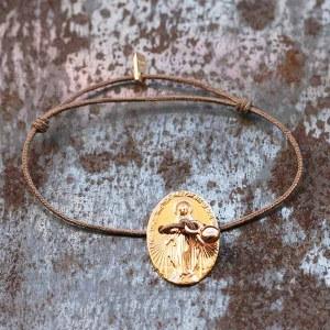 Bracelet Exvoto Or Rose