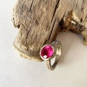 Bague Secret d'Orient Tourmaline rose