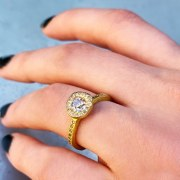 Bague Sentiment Diamants