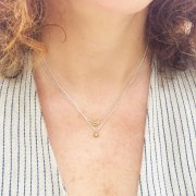 Collier Bulle Or