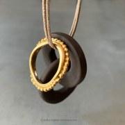 Collier Anneaux Porcelaine