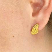 Boucles d'Oreilles Or Diamants