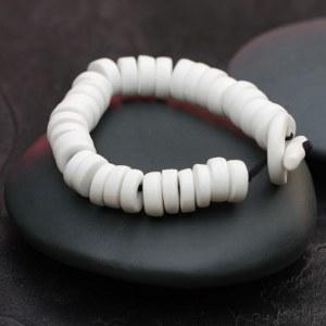 Bracelet Porceliane blanche