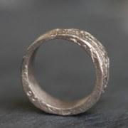 Anneau or gris