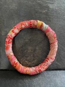 Bracelet Tissu Rose
