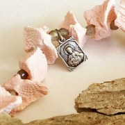 Collier Chapelet Rose