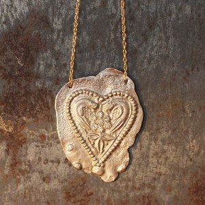 Collier Coeur Antique RESERVE