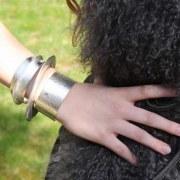 Bracelet Elipse argenté