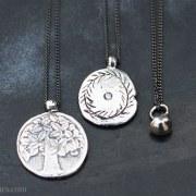 Pendentif Médaille Diamant